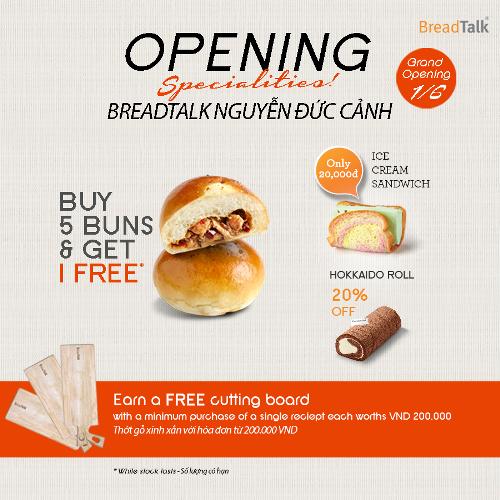 Bread talk Nguyễn Đức Cảnh